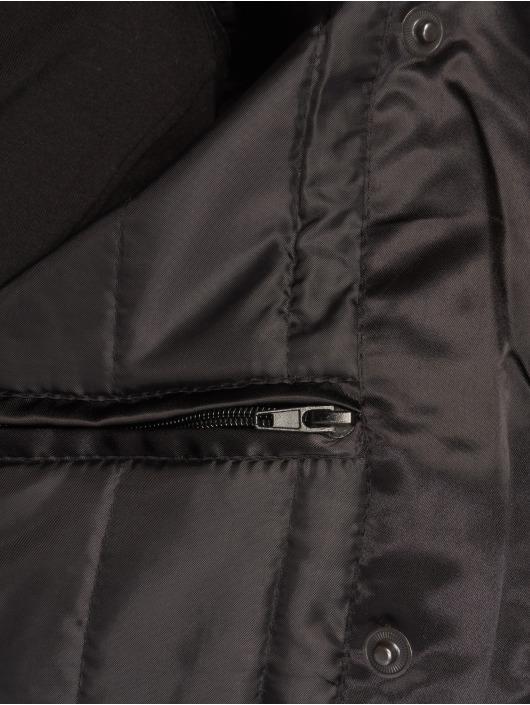 DEF Bomber Fake Fur noir