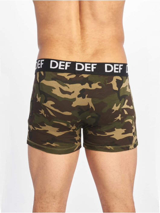 DEF Boxerky Dong zelená