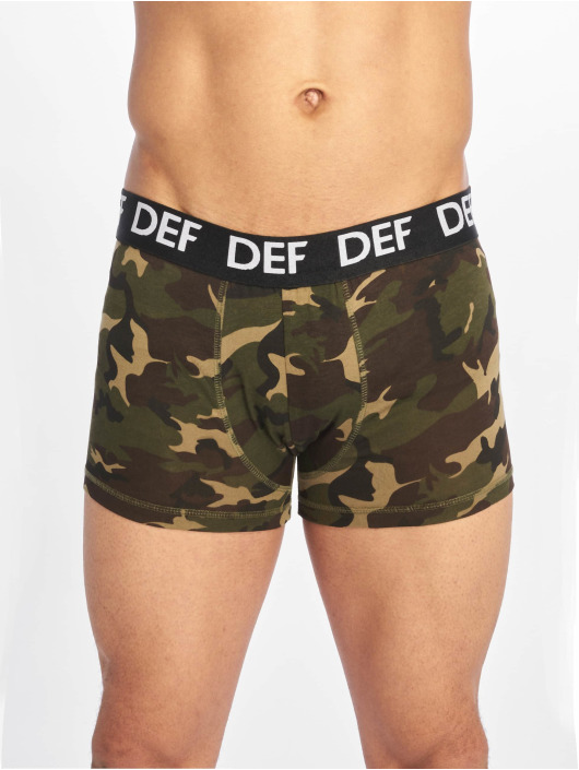 DEF Boxershorts 2er Pack camouflage