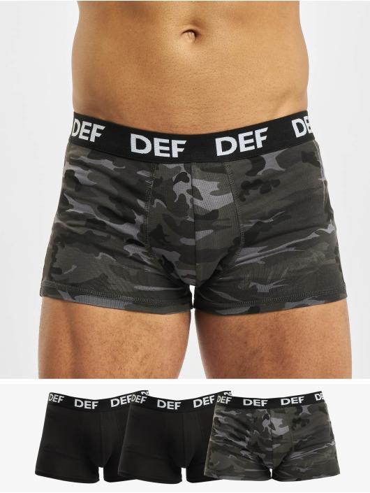 DEF Boxershorts 4er Pack camouflage