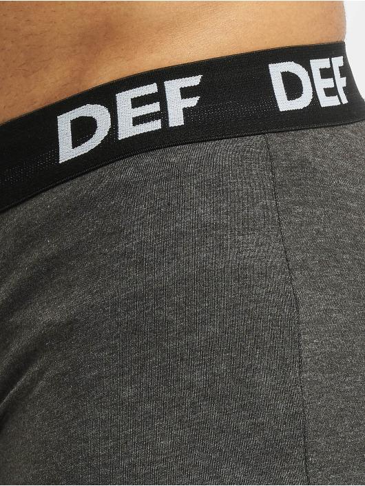 DEF Boxershorts 6er Pack grau