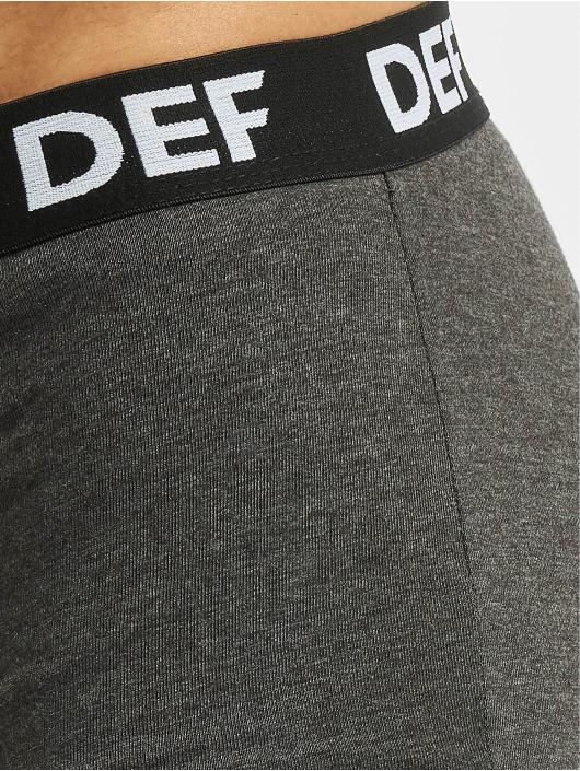 DEF Boxershorts 6er Pack schwarz