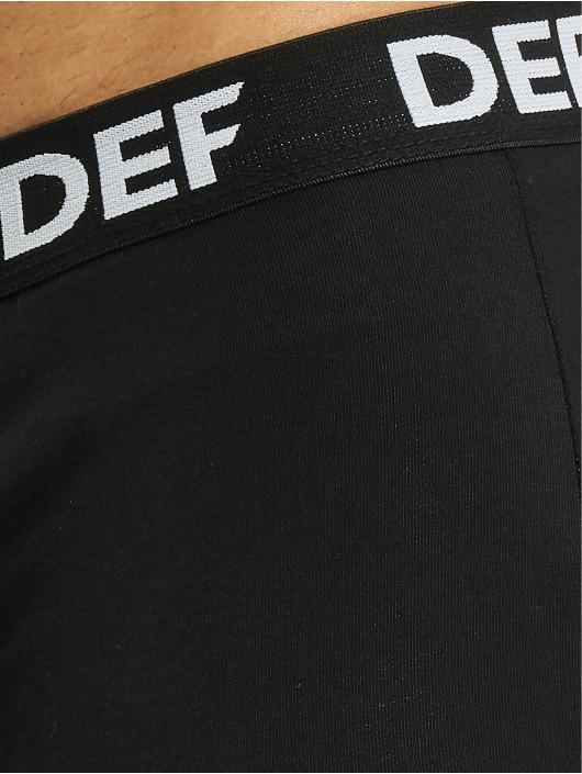 DEF Boxershorts 12er Pack schwarz