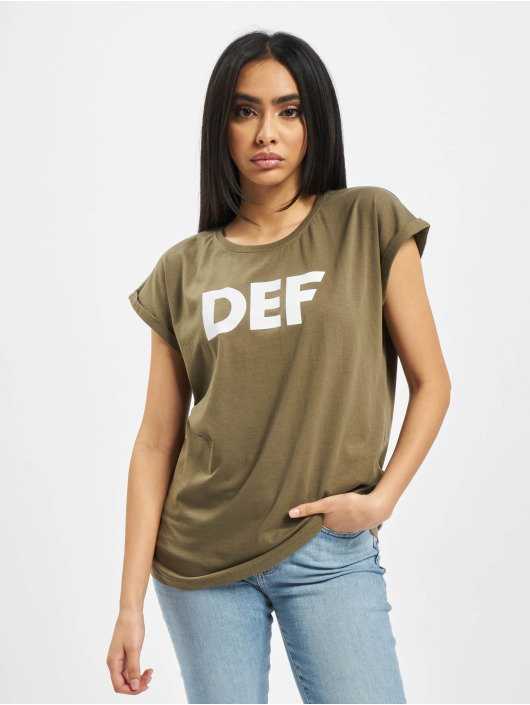 DEF Camiseta Sizza oliva