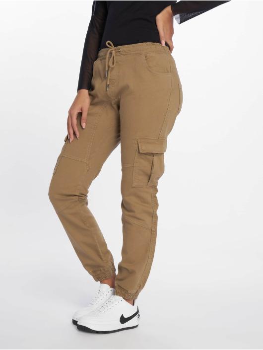 DEF Cargo pants Lea beige