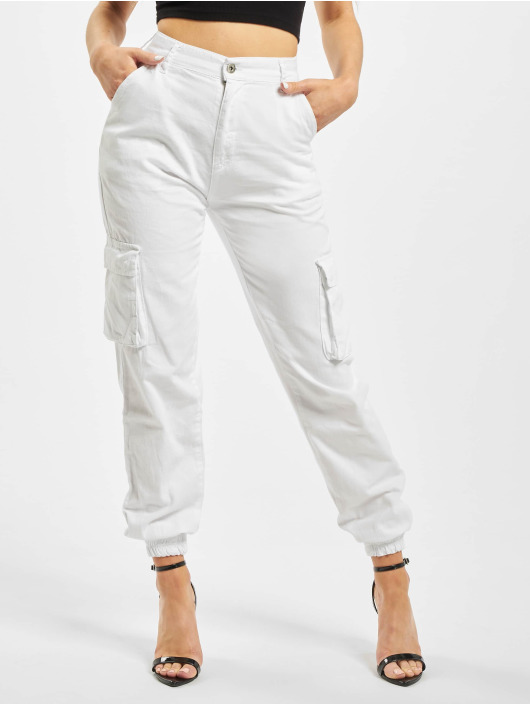 DEF Cargo pants Ruby white