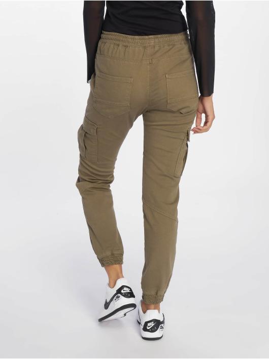 DEF Chino bukser Lea oliven