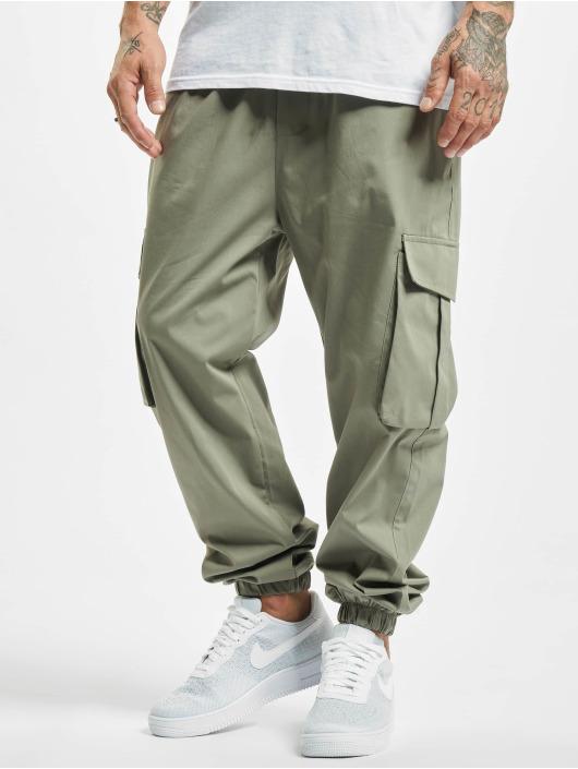 DEF Chino bukser Flo oliven