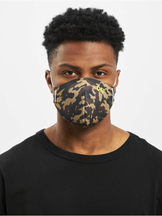 DEF Diverse Face Mask camouflage