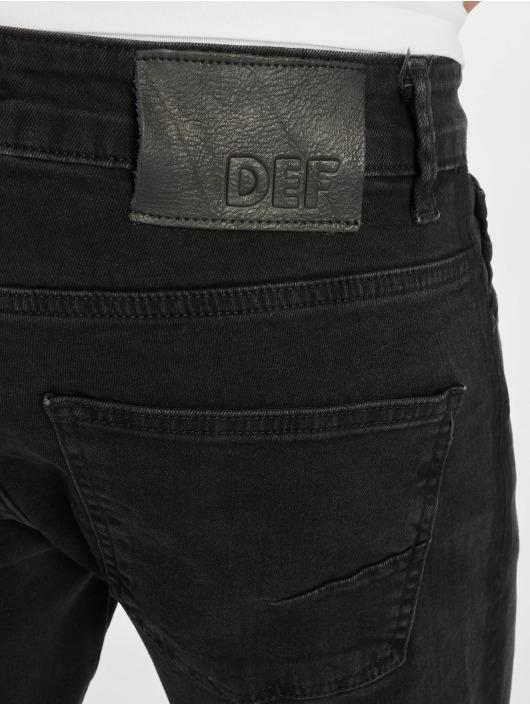 DEF dżinsy przylegające Kurt czarny