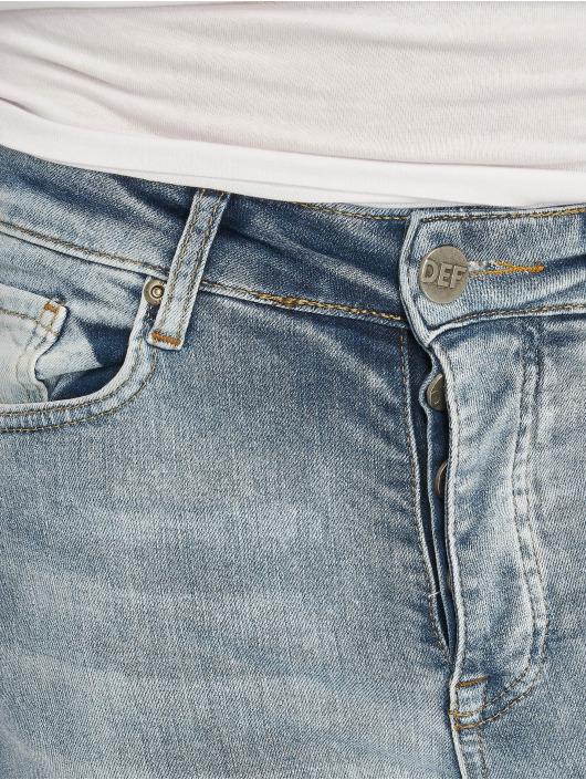 DEF dżinsy przylegające Hugo niebieski
