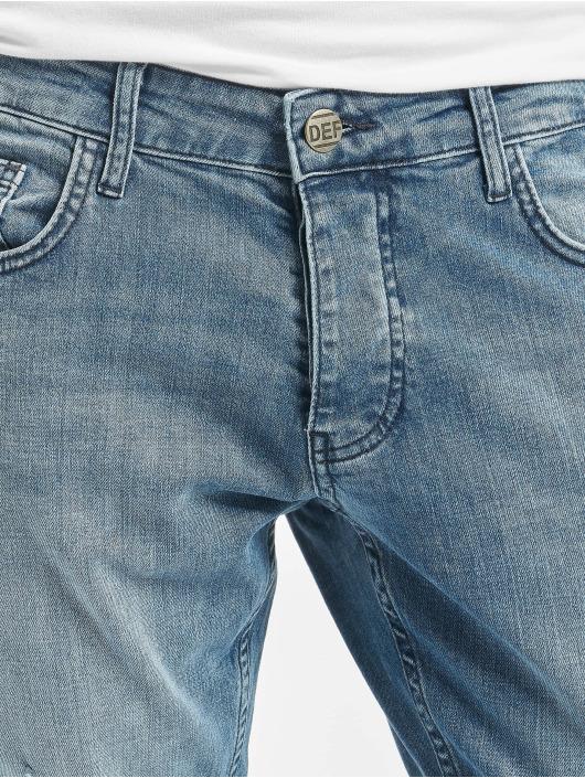 DEF dżinsy przylegające Wes niebieski