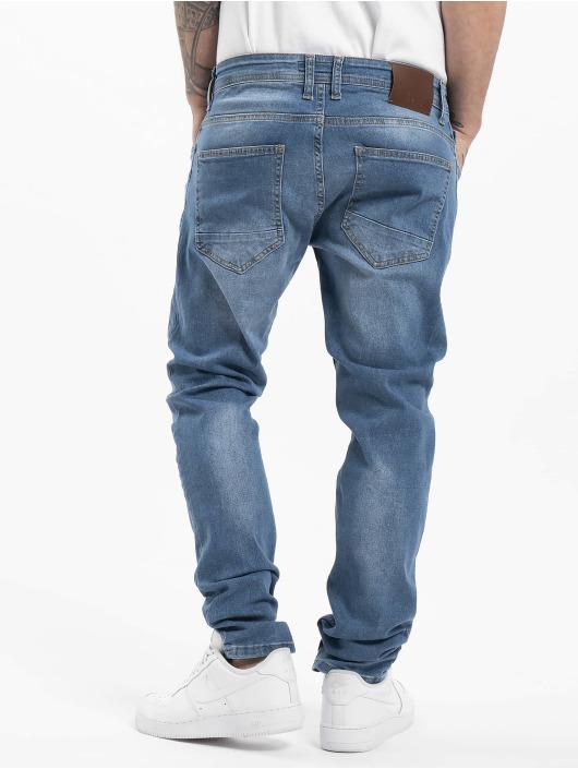 DEF dżinsy przylegające Hines niebieski