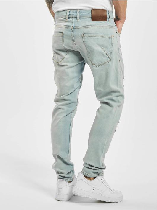 DEF dżinsy przylegające Hever Slim niebieski