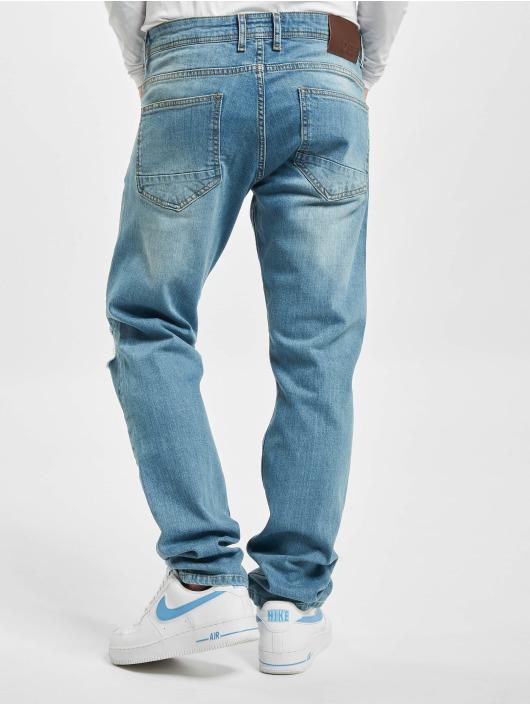 DEF dżinsy przylegające Claudio niebieski