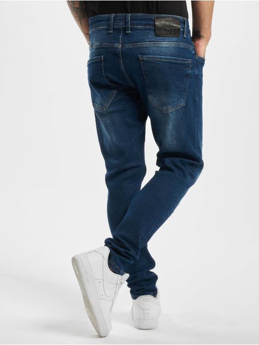 DEF Dżinsy straight fit Tom niebieski