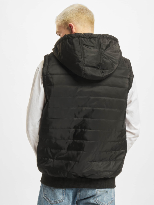 DEF Gilet Quilted nero