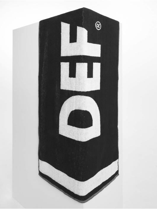 DEF Håndkle Logo svart