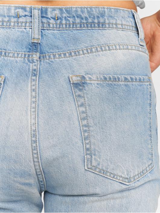 DEF Høy midje Jeans Swoop blå