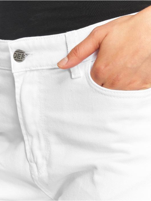 DEF Høy midje Jeans Swoop hvit