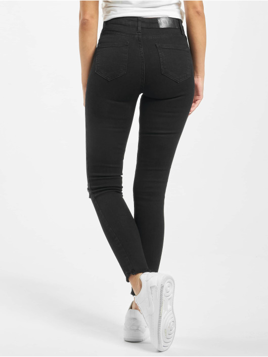 DEF High Waisted Jeans Alla black