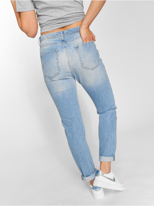 DEF High Waisted Jeans Swoop blue