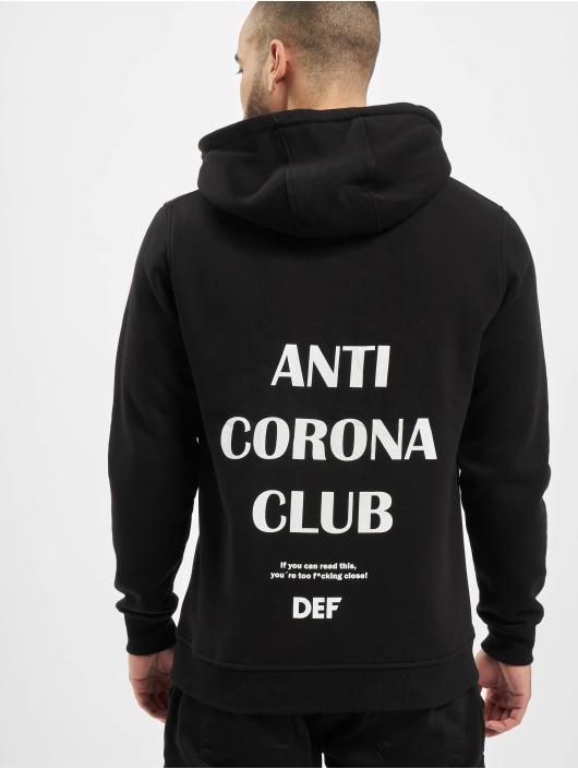 DEF Hoodie Anti Corona black