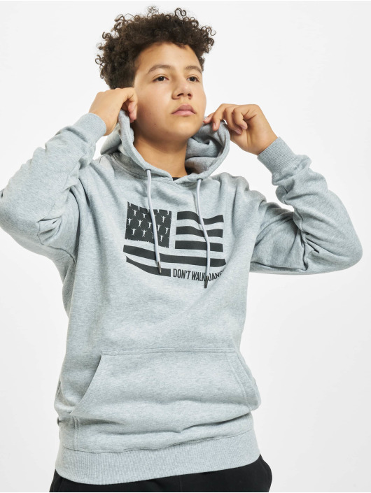 DEF Hoodie Don´t Walk Dance grey