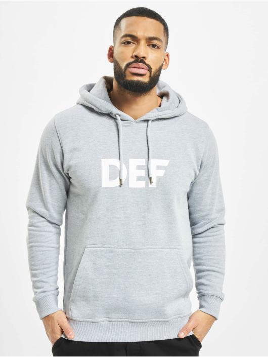 DEF Hoodies Til Death grå