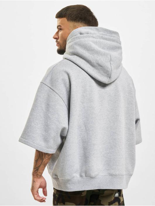 DEF Hoody Short Sleeve grau