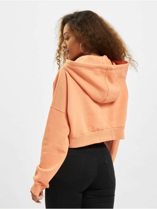 DEF Hoody Cropped orange