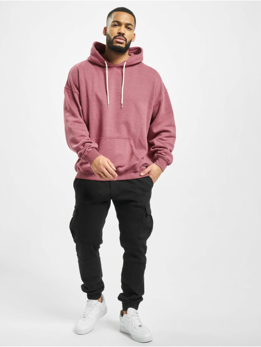 DEF Hoody Miguel Pablo Oversize rot