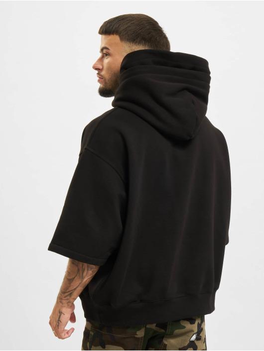 DEF Hoody Short Sleeve schwarz