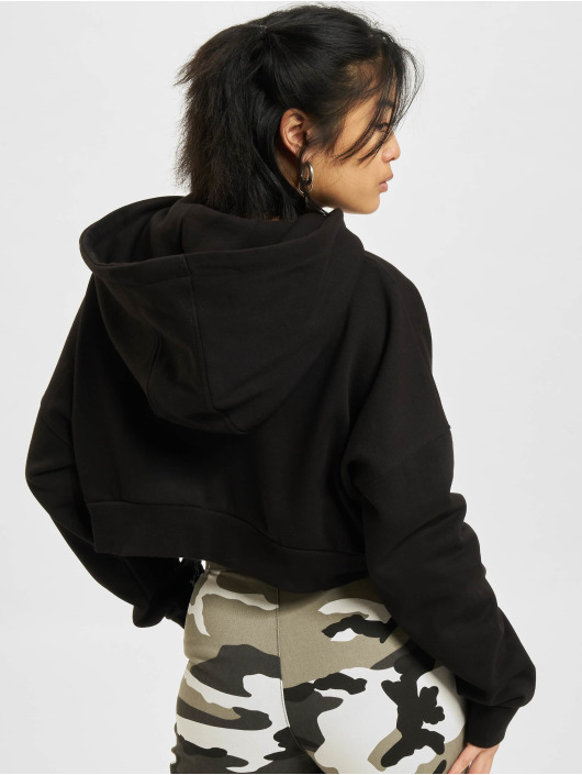 DEF Hoody Cropped schwarz