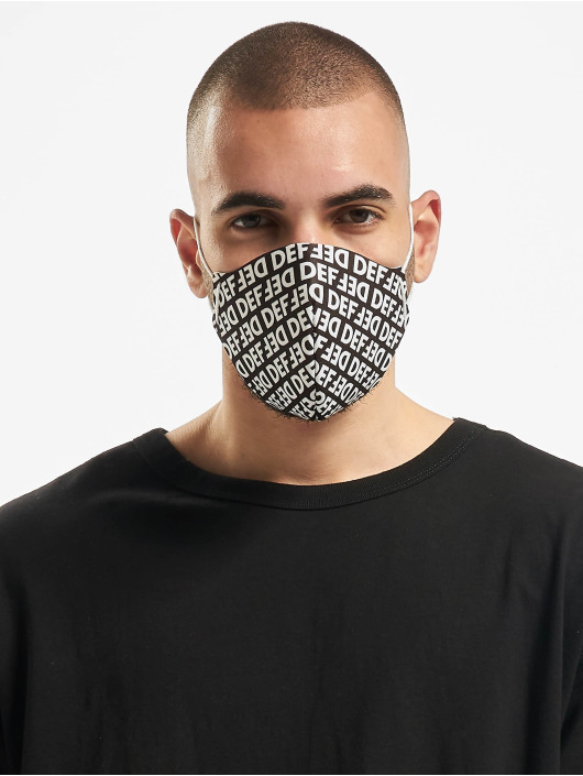 DEF Iné Face Mask èierna