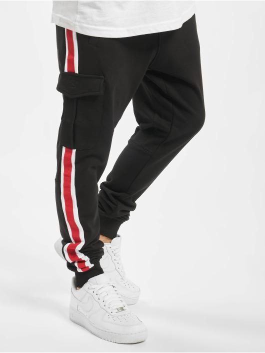 DEF Jogging kalhoty Bizz čern