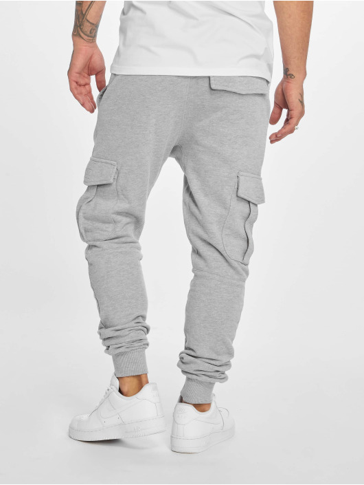 DEF Jogging kalhoty Gringo šedá