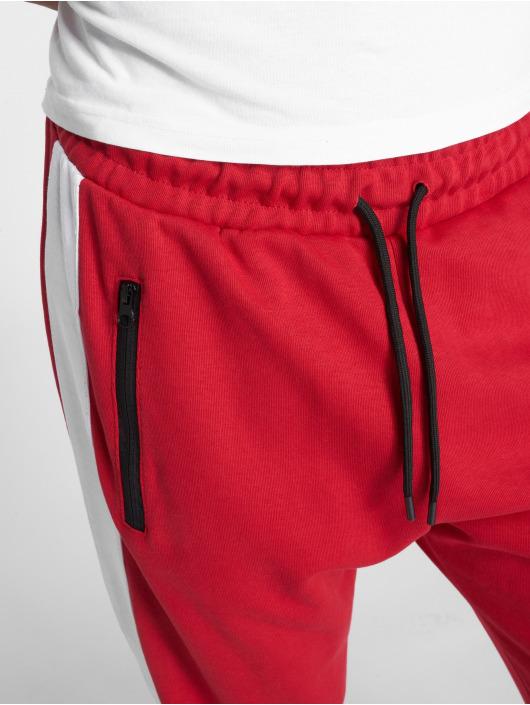 DEF joggingbroek Bearer rood