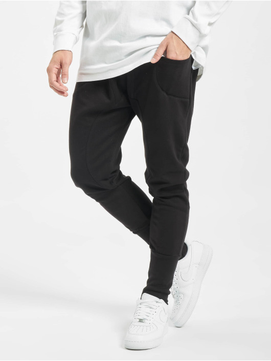 DEF joggingbroek Sweatpants zwart