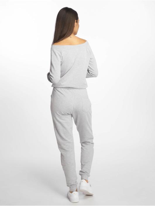 DEF Jumpsuit Nora grigio