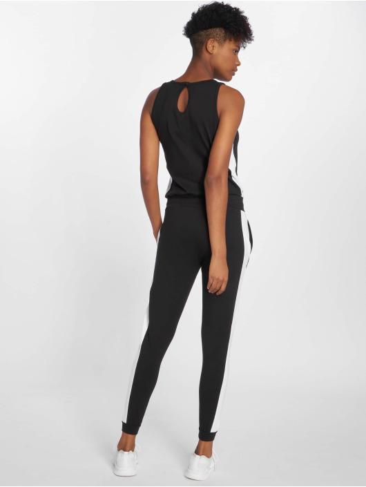 dc19e7c629618f DEF Damen Jumpsuit Bat in schwarz 491305