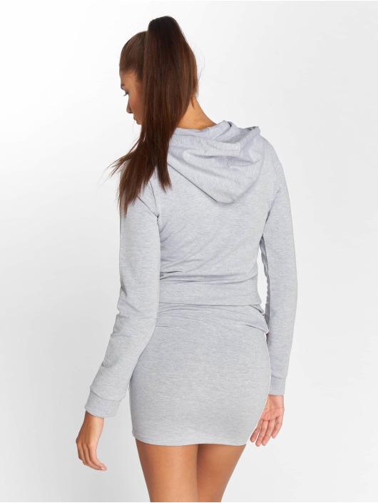 DEF jurk Lyot grijs