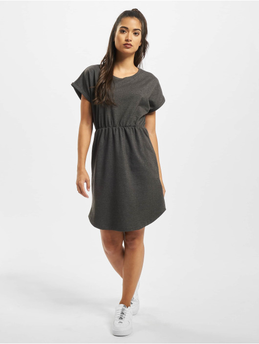 DEF jurk Hilla grijs