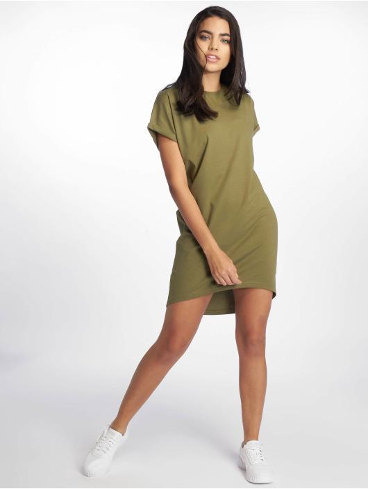 DEF jurk Agung olijfgroen
