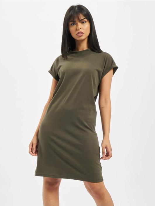 DEF jurk Oliana olijfgroen