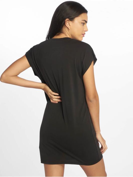 DEF jurk Basic zwart