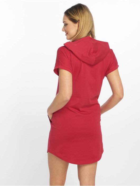 DEF Kleid Vesuv rot