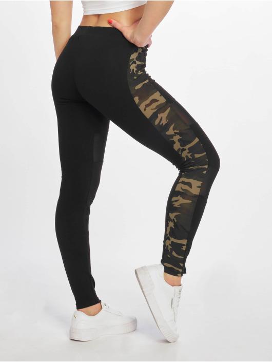 DEF Legging Tealy noir