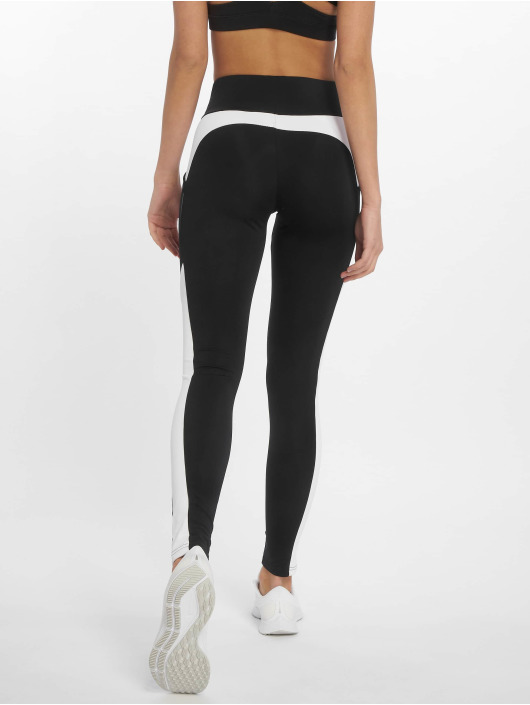DEF Leggings/Treggings Stripes czarny