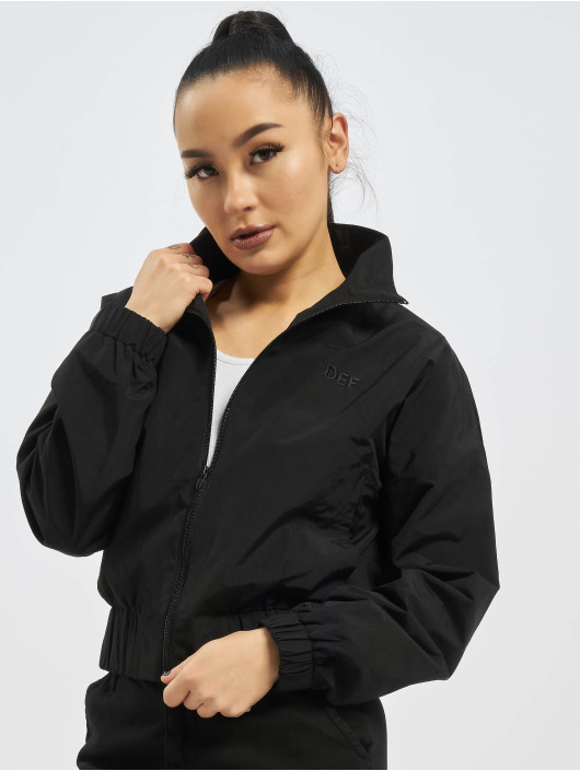 DEF Lightweight Jacket Short black
